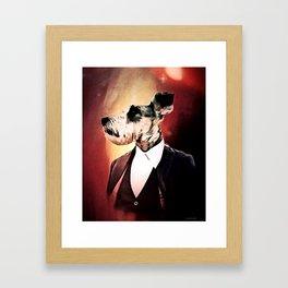 THE 12TH DOGTOR Framed Art Print