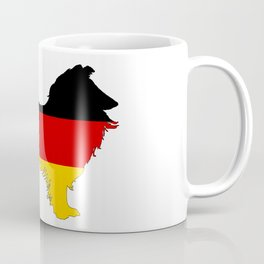 German Flag - Border Collie Coffee Mug