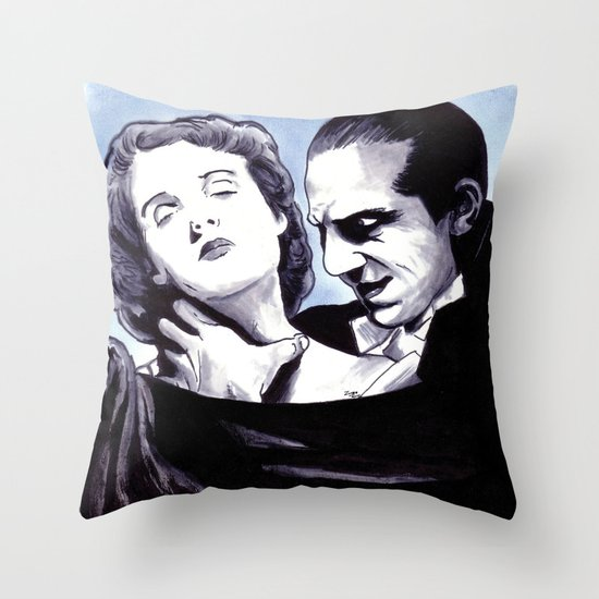 I Never Drink Wine Throw Pillow