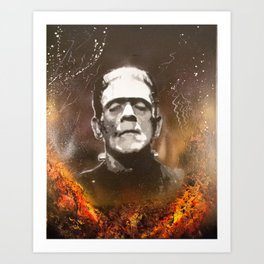 The Monster Art Print