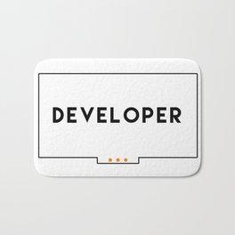 Developer stickers 2 in 1 Bath Mat