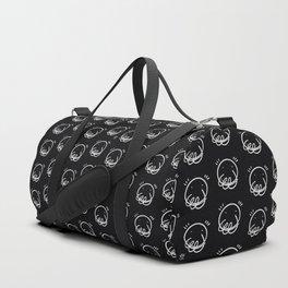 Smiles - Digital ink - iPad pro - On print. Black BG Duffle Bag