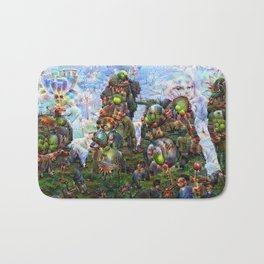 DeepDream Pictures, Rocks Bath Mat