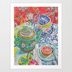 Tea for Joanne Art Print