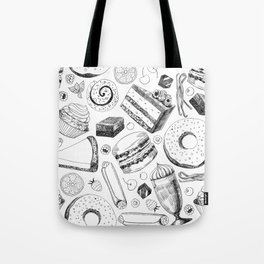 Delicious pattern Tote Bag