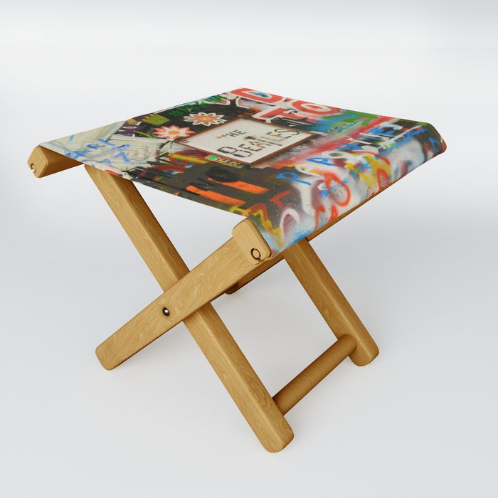 A moment with a Beatle Folding Stool