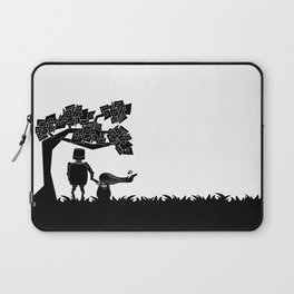 The child and the robot Laptop Sleeve