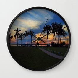 Westward Winds Wall Clock