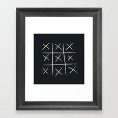 You win Framed Art Print