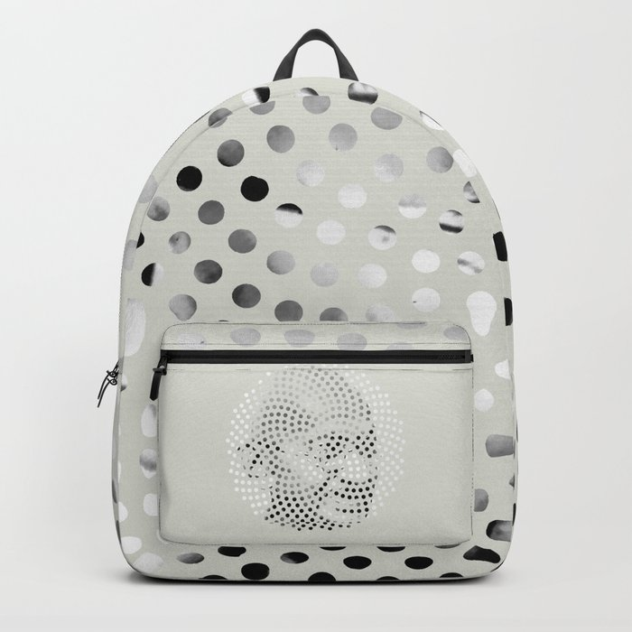Optical Illusions - Iconical People 4 Backpack