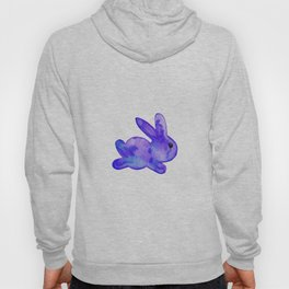 Little Bunny No. 1g by kathy Morton Stanion Hoody
