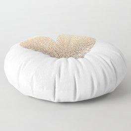 GOLD HEART Floor Pillow