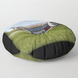 Barn & Geese - Welcome Floor Pillow