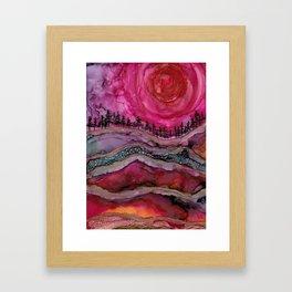 Ithica Framed Art Print