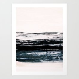 abstract minimalist landscape 9 Art Print