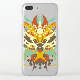 Abstraction Twenty-Five Amaterasu Clear iPhone Case