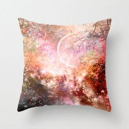 Negative Fantasy Throw Pillow