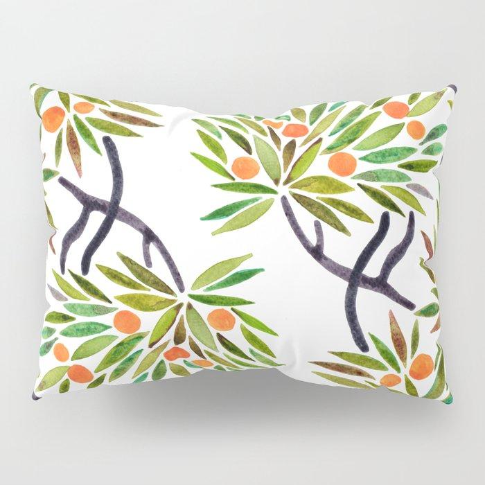 Bonsai Tree – Orange Fruit Pillow Sham