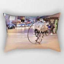 Performance Art on the Streets of Bucktown, Chicago 03 Rectangular Pillow