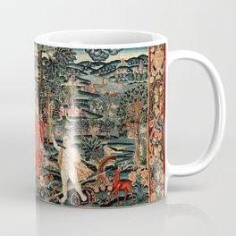 Franco Flemish Allegorical 17th Century Tapestry Print Coffee Mug