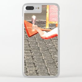 SquaRed: New Order Same Rules Clear iPhone Case