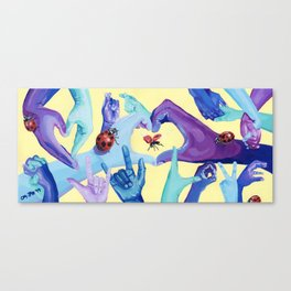 Love and Luck Canvas Print