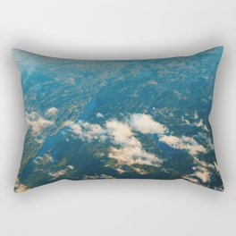 The Land of a Thousand Lakes Rectangular Pillow