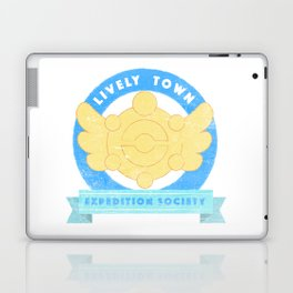 Lively Town Expedition Society Laptop & iPad Skin
