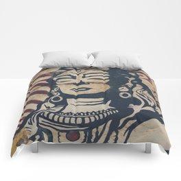 Hindu mural Comforters
