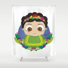 Cute Frida Shower Curtain