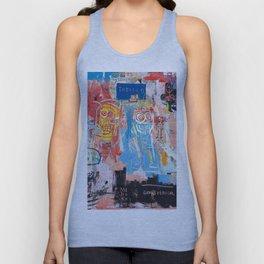 Basquiat Style 2 Unisex Tank Top