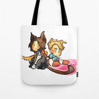 stucky Tote Bags featuring stucky by noCek