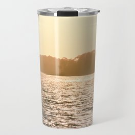 Clarks Hill Lake Sunset Travel Mug
