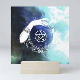 Mystic Cosmos Fortune Teller Mini Art Print