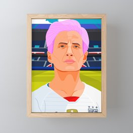 Megan Rapinoe Framed Mini Art Print
