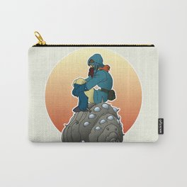 Nausicaa & baby Ohmu taking a break... Carry-All Pouch
