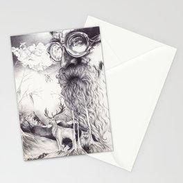 Skägg Stationery Cards