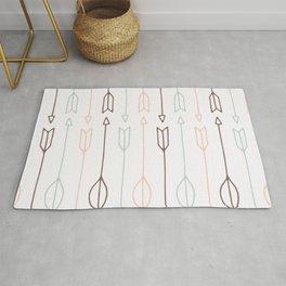 Cute tribal arrows pattern Rug