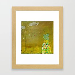 there is work to do here Framed Art Print