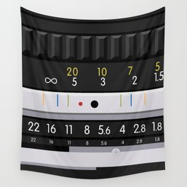 Nikon 50mm Wall Tapestry