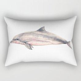 Tucuxi (Sotalia fluviatilis) Rectangular Pillow