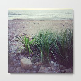 Quiet Time at the Lake Metal Print