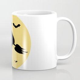 The witch's flight Coffee Mug