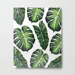 Tropical Leaves vol.4 Metal Print