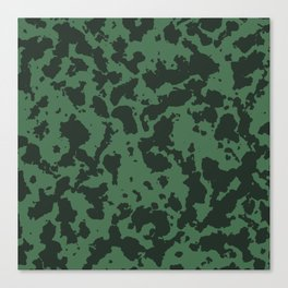 Military pattern Canvas Print