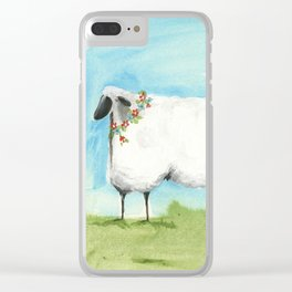 Don't be Sheepish! Clear iPhone Case