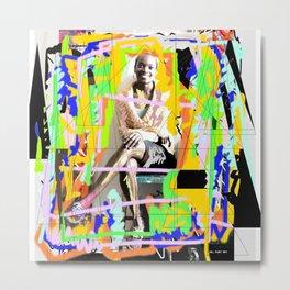 Woman N4 Metal Print