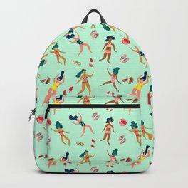 A Female Summer Day Backpack