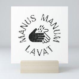 ManusManumLavat II - Wash your Hands Mini Art Print