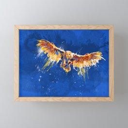 Night Owl Framed Mini Art Print